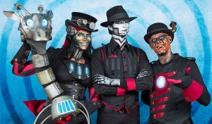 Time Travellers with Steam Powered Giraffe @ The Engine Shed | Brayford Pool | England | United Kingdom