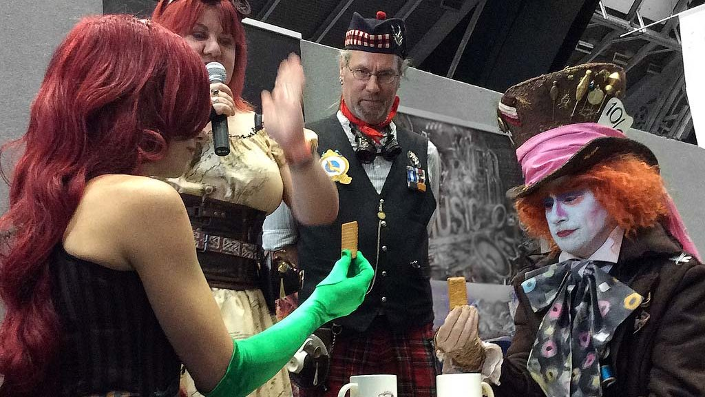 Tea Duelling at MCM Manchester