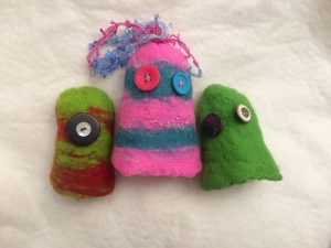 Felted Monsters Workshop @ The Robert Hardy Building | England | United Kingdom